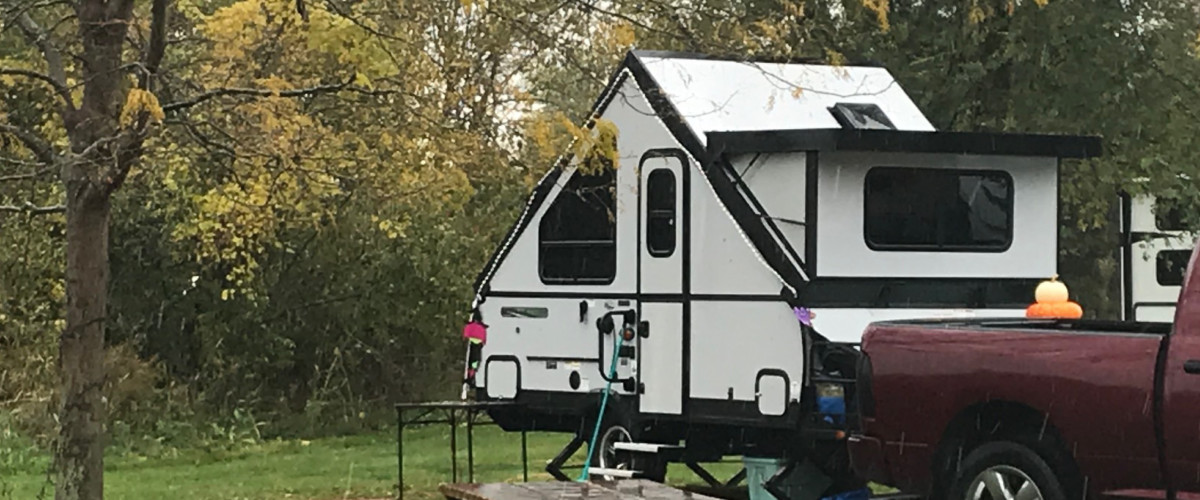 Camping at White Star Park Campground - 910 S. Main Street, Gibsonburg, OH 43431